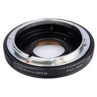 Für weitere Info hier klicken. Artikel: B.I.G. Objektivadapter m. Linse Canon FD an Nikon