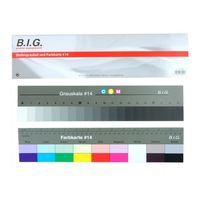 Für weitere Info hier klicken. Artikel: B.I.G. Stufengraukeil+Farbkarte 14cm-36cm