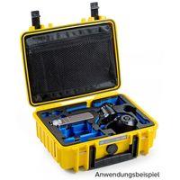 B&W outdoor.cases Type 1000 für DJI Osmo X3 / DJI Osmo+ gelb