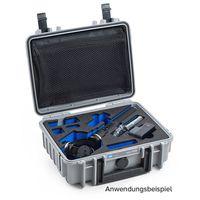 Für weitere Info hier klicken. Artikel: B&W outdoor.cases Type 1000 für Feiyu Tech G3 / G4 / G4S / G5 grau