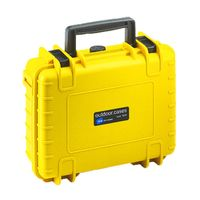 Für weitere Info hier klicken. Artikel: B&W outdoor.cases Type 1000 für GoPro Hero 2 / 3 / 4 gelb