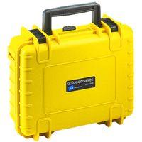 Für weitere Info hier klicken. Artikel: B&W outdoor.cases Type 1000 mit Würfelschaum (SI) gelb