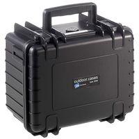 B&W outdoor.cases Type 2000 mit Würfelschaum (SI) schwarz