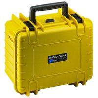 B&W outdoor.cases Type 2000 mit Würfelschaum (SI) gelb