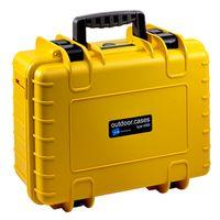 Für weitere Info hier klicken. Artikel: B&W outdoor.cases Type 4000 mit Würfelschaum (SI) gelb