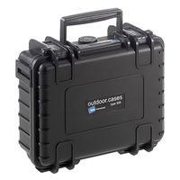 B&W outdoor.cases Type 500 mit Würfelschaum (SI) schwarz