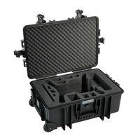 Für weitere Info hier klicken. Artikel: B&W outdoor.cases Type 6700 mit 3DR Solo Inlay schwarz