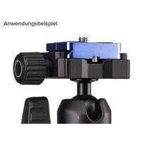 Für weitere Info hier klicken. Artikel: Benro PU30 Arca Style Wechselplatte PU30 für Benro Slim Stativ