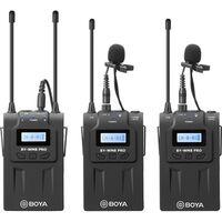 Für weitere Info hier klicken. Artikel: Boya BY-WM8 PRO K2 UHF Kabellos Mikrofon Kit 2TX+1RX
