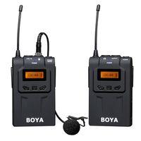 Für weitere Info hier klicken. Artikel: Boya drahtloses UHF Moderator Mikrofon BY-WM6