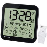 Für weitere Info hier klicken. Artikel: Bresser MyTime Meteotime LCD Wetter-Wanduhr schwarz