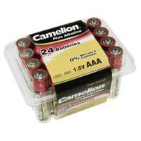 Für weitere Info hier klicken. Artikel: Camelion Batterie LR03 Alkaline Plus 24er-Pack