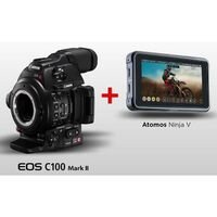 Für weitere Info hier klicken. Artikel: Canon C100 Mark II + Atomos Ninja V Kit - Vorführmodell -
