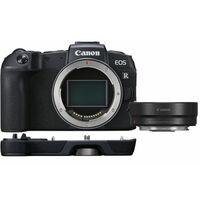 Für weitere Info hier klicken. Artikel: Canon EOS RP Gehäuse + Adapter EF-EOS R + Handgriff EG-E1