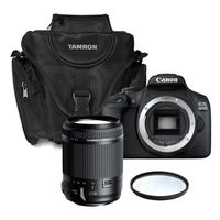 Für weitere Info hier klicken. Artikel: Canon EOS 2000D + Tamron 18-200mm Di II VC + Tasche + UV-Filter Canon EF-S
