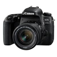 Canon EOS 77D Kit inkl EF-S 18-55mm f/4,0-5,6 IS STM