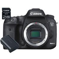 Für weitere Info hier klicken. Artikel: Canon EOS 7D Mark II Gehäuse + WiFi Adapter W-E1 + Akku LP-E6N