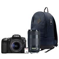 Für weitere Info hier klicken. Artikel: Canon EOS 90D + EF-S 18-55mm + EF 70-300mm f/4-5,6 IS II USM + Rucksack BP100 + 16 GB SD
