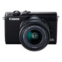 Canon EOS M100,EF-M 3,5-6,3/15-45 IS STM schwarz