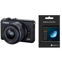 Für weitere Info hier klicken. Artikel: Canon EOS M200 + EF-M 15-45mm f/3.5-6.3 + Capture One Pro 20 schwarz