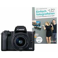 Für weitere Info hier klicken. Artikel: Canon EOS M50 + EF-M 3,5-6,3/15-45 IS STM + Buch Einfach fotografieren lernen