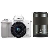 Für weitere Info hier klicken. Artikel: Canon EOS M50 + EF-M 3,5-6,3/15-45 IS STM + EF-M 55-200mm weiss