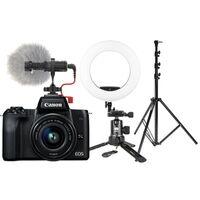 Für weitere Info hier klicken. Artikel: Canon EOS M50 + EF-M 3,5-6,3/15-45 IS STM - Vlogger Kit für Einsteiger