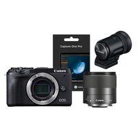 Für weitere Info hier klicken. Artikel: Canon EOS M6 Mark II + EF-M 32mm f/1,4 STM + EVF-DC2 + Capture One Pro 20