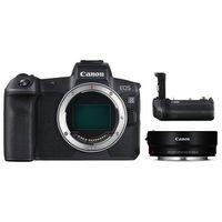 Canon EOS R Gehäuse + Adapter EF-EOS R + Batteriegriff BG-E22