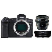 Für weitere Info hier klicken. Artikel: Canon EOS R Gehäuse + EF 50mm f/1,4 USM + Adapter EF-EOS R