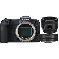 Für weitere Info hier klicken. Artikel: Canon EOS RP Gehäuse + EF 50mm f/1,8 STM + Adapter EF-EOS R