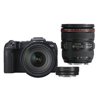 Für weitere Info hier klicken. Artikel: Canon EOS RP + RF 24-105mm f/4 L IS USM + Adapter EF-EOS R + EF 24-70mm f/4,0 L IS USM