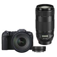 Für weitere Info hier klicken. Artikel: Canon EOS RP + RF 24-105mm f/4 L IS USM + Adapter EF-EOS R + EF 70-300mm f/4-5,6 IS II USM