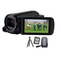 Für weitere Info hier klicken. Artikel: Canon LEGRIA HF-R78 Premium Kit + Tasche + WA-H43 + miniStativ + 8GB SD Karte im Lieferumfang