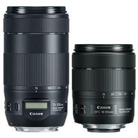 Für weitere Info hier klicken. Artikel: Canon Objektivset EF-S 18-135mm f/3,5-5,6 IS USM + EF 70-300mm f/4-5,6 IS II USM