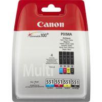 Canon Multipack CLI-551 Vorteilspack (cyan/magenta/yellow/black) 4x 7ml