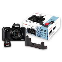 Für weitere Info hier klicken. Artikel: Canon PowerShot G5X schwarz Special Edition incl. Tasche DCC1850 + 32GB Karte