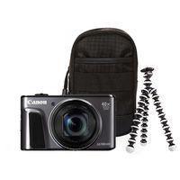 Für weitere Info hier klicken. Artikel: Canon PowerShot SX720 HS Travel Kit schwarz
