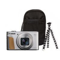 Canon PowerShot SX740 HS Travel Kit silber
