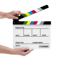 Für weitere Info hier klicken. Artikel: Caruba Professionelle Directors Filmklappe