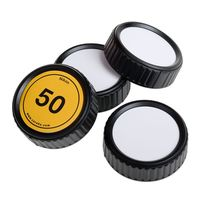 Für weitere Info hier klicken. Artikel: Caruba Rückdeckel Nikon Beschreibbar Set 4 Stück