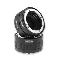 Für weitere Info hier klicken. Artikel: Caruba Zwischenringsatz Chrom (Typ II) - Demomodell - Nikon FX