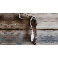 Für weitere Info hier klicken. Artikel: Chief Mate Ledergurt 125 cm dunkelbraun-weiß