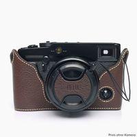 Für weitere Info hier klicken. Artikel: Ciesta Fujifilm XPRO1 Half Case + Cap Kamerahülle dunkelbraun