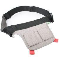 Für weitere Info hier klicken. Artikel: Cosyspeed Flowbelt Hüftgurt mit zwei Aufnahmen für Phoneslinger-Taschen, Stuffbag oder Beltpad grau