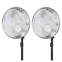 Für weitere Info hier klicken. Artikel: Dörr Dauerlicht DL-400 mit 4x25W LED Birnen 2-er Kit