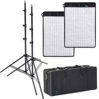 Für weitere Info hier klicken. Artikel: Dörr LED Flex Panel 2er Kit FX-4555 BC mit 2xLS+Tasche