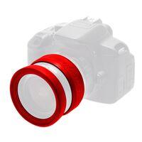 Für weitere Info hier klicken. Artikel: EasyCover Lens Rim Stoßschutz-Set für Objektive 2-teilig rot 72 mm