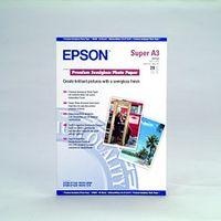 Für weitere Info hier klicken. Artikel: Epson Papier Premium Semigloss A3+ S041328