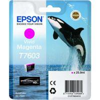 Für weitere Info hier klicken. Artikel: Epson T7603 vivid magenta